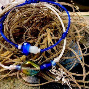 Magic Fairy 🧚 Crystal Macrame bracelet set